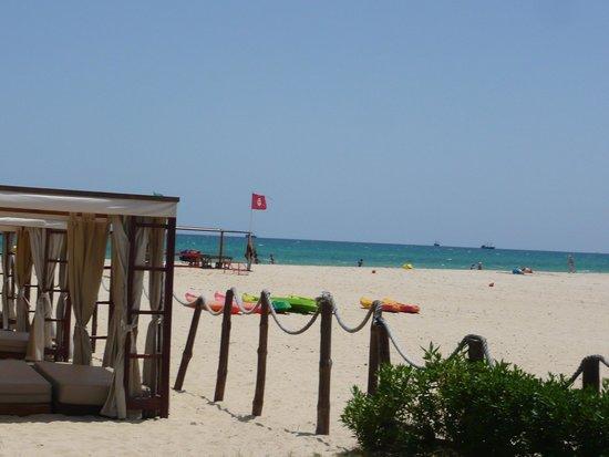 Club Eldorador Salammbo : vue du bar de la plage