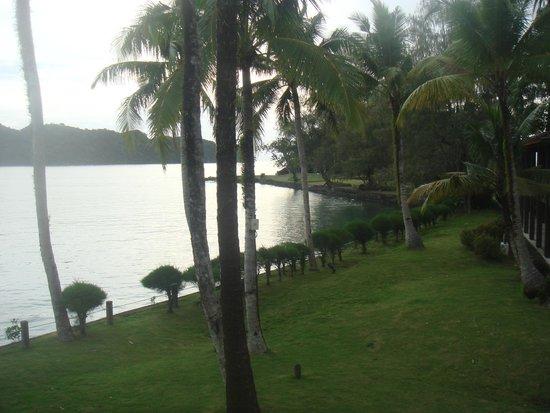 Palau Pacific Resort: Вид  с нашего балкона