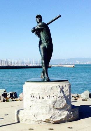 AT&T Park : Statue at McCovey Cove
