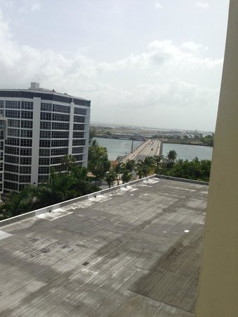 The Condado Plaza Hilton: Not so great view from room