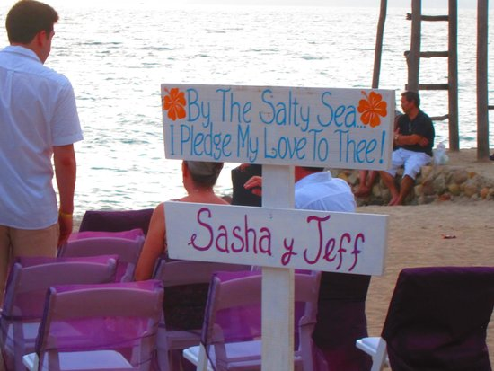 Playa Los Arcos Hotel Beach Resort & Spa: unexpected special touch