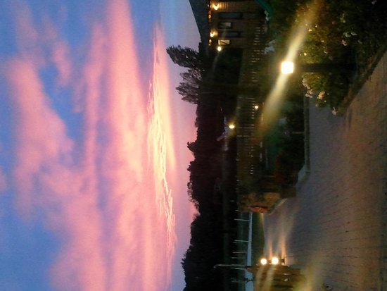 La Taverna del Grillo: tramonto