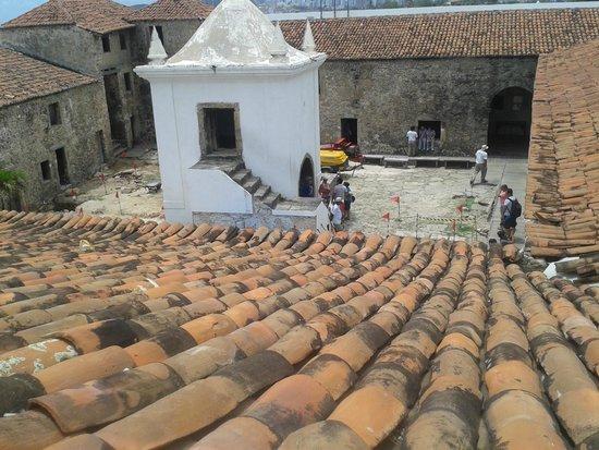 Reis Magos Fortress: Pátio central do forte