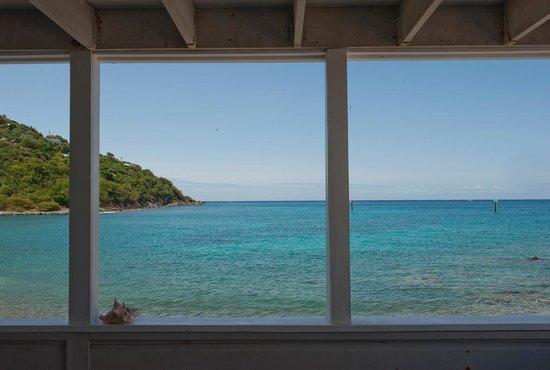 """Coconut Coast Villas : View from deck of """"Petrea"""" room"""