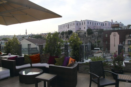 Hotel Amira Istanbul: Rooftop terrace