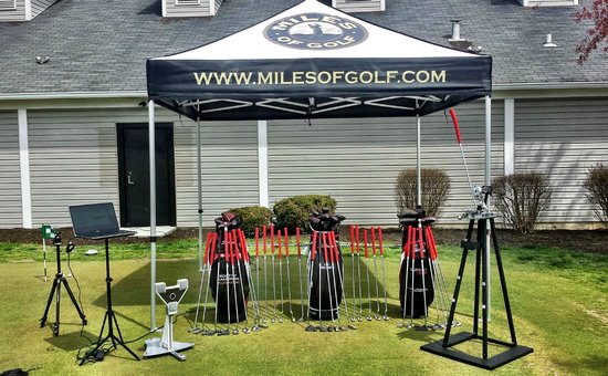 Miles Of Golf >> Sam Putt Lab Putter Fitting Picture Of Miles Of Golf