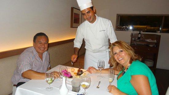 Secrets The Vine Cancún: Restaurant Italiano,Cheff Victor excelente!!!