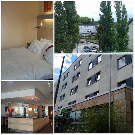 Holiday Inn Express Frankfurt-Messe: Can't fault the location