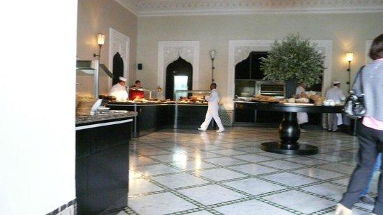 La Mamounia Marrakech : Le restaurant d'une des piscines