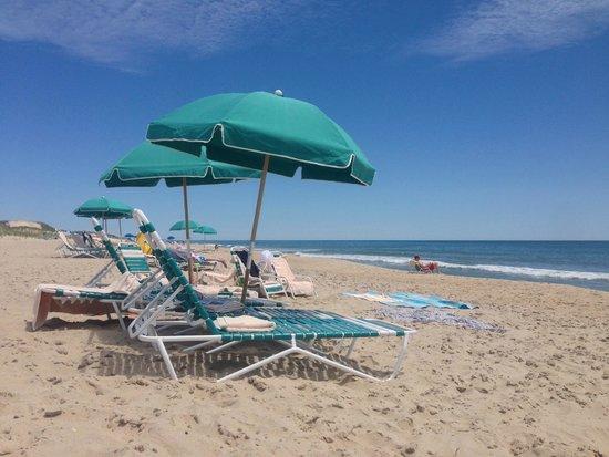Sea Crest on the Ocean : Beach chairs provided