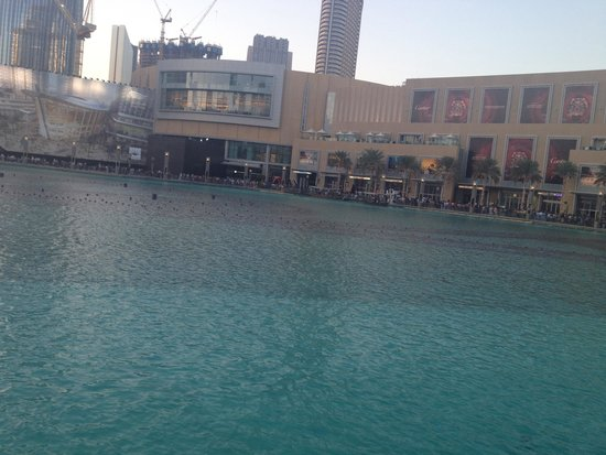 The Palace Downtown Dubai : Wat a view