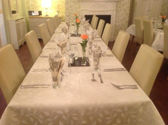 Number 63: New dining room function evening supper