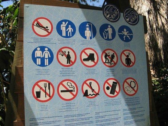 PortAventura Aquatic Park : Regulations...