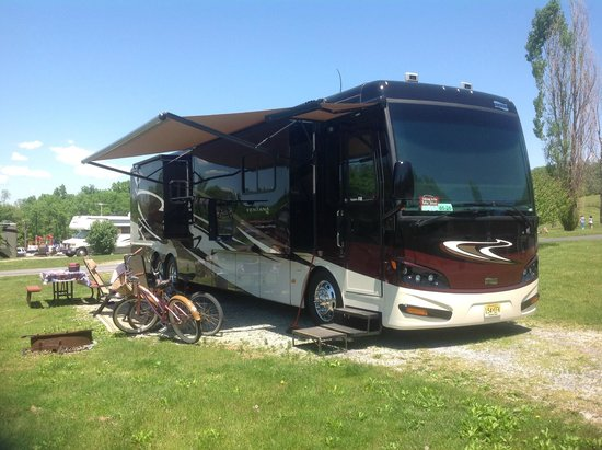 Hershey RV & Camping Resort: Our Site & Rig