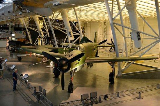 Smithsonian National Air and Space Museum Steven F. Udvar-Hazy Center: Немцы