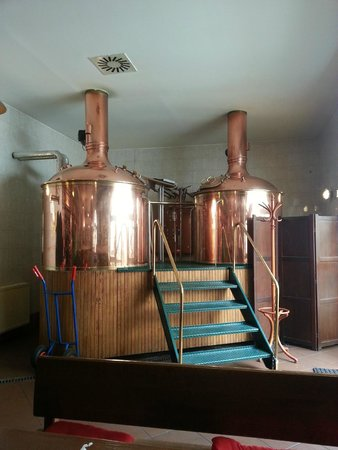 The Strahov Monastic Brewery: Brewing vats