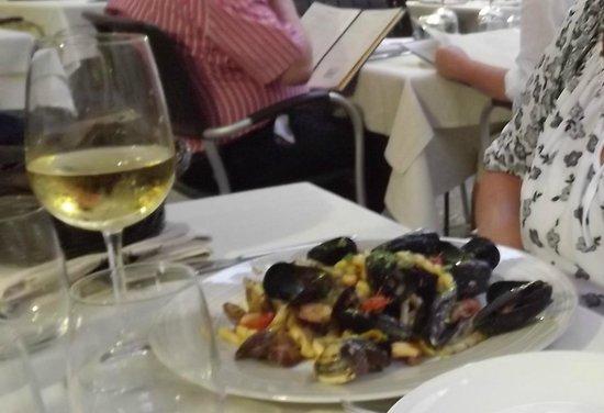 Caupona Taverna di Sicilia: Busiate ai frutti di mare