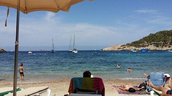 Playa de Ses Salines: mare bellissimo