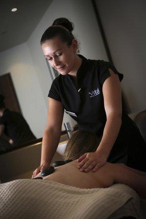 Macdonald Forest Hills Hotel & Spa: Treatment