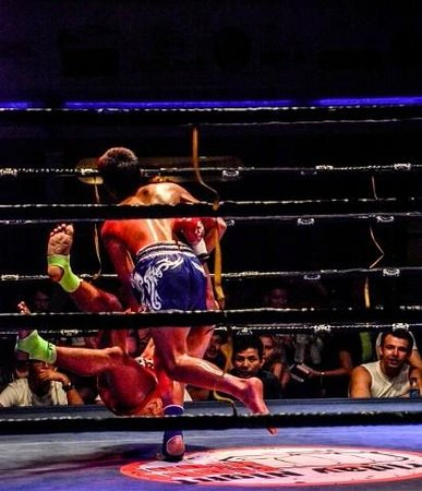 Chaweng Boxing Stadium : Thai Boxen in Chaweng