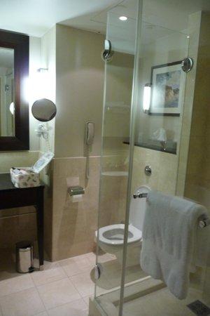 InterContinental Hotel Warsaw: SALLE DE BAIN