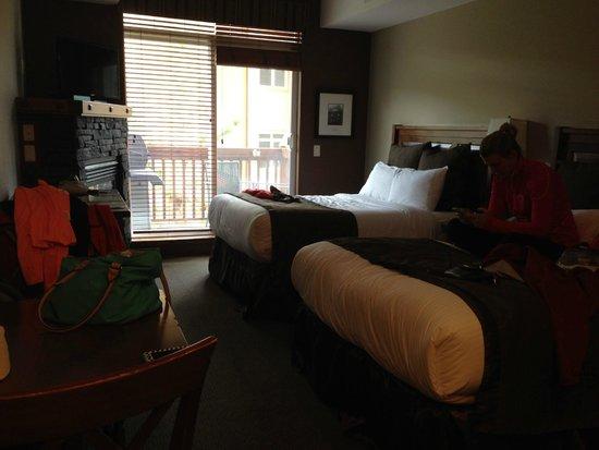 Falcon Crest Lodge : Double room