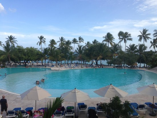 Dreams La Romana Resort & Spa: View from our room
