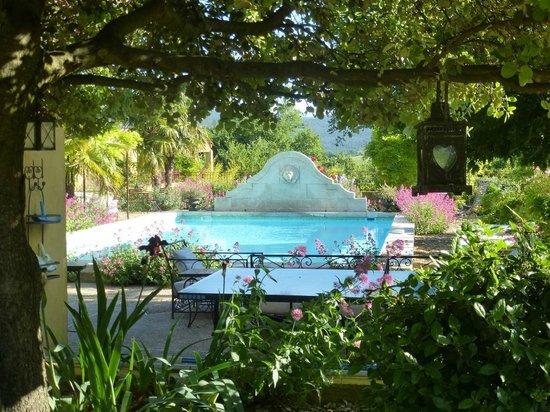 Le Mas Jorel: Grande Piscine 6x12m avec Pool-house et cuisine d'été