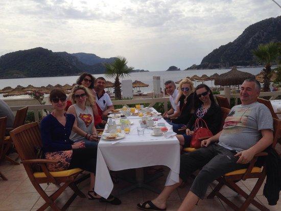 Marti Resort de Luxe : Breakfast with great view