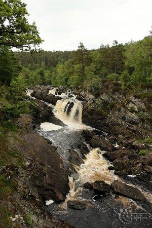 Rogie Falls: Die eigentlichen Rogie-Falls