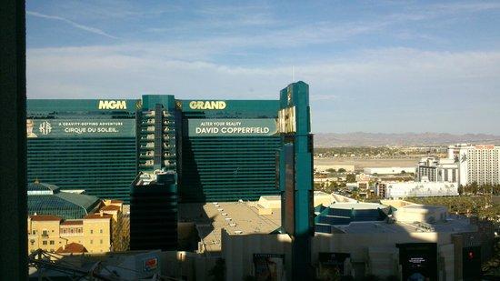 New York - New York Hotel and Casino: Vue de notre chambre