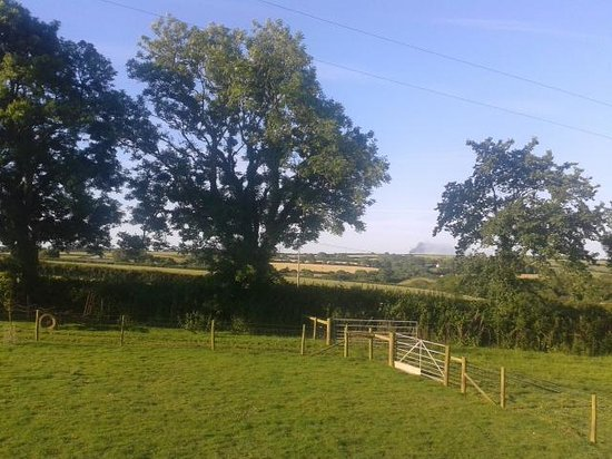 Rosehill Farm Bed and Breakfast: view from guest room