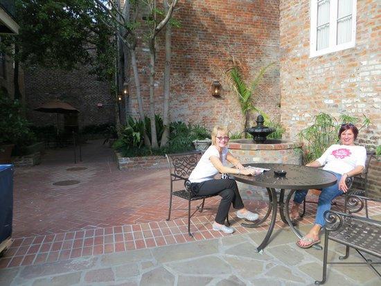 French Market Inn: Beautiful Courtyard!