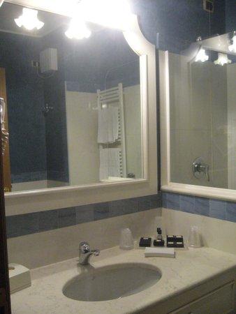 Iseo Lago Hotel: Parte del bagno