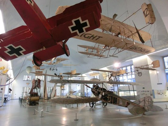 Deutsches Museum: 迫力のある展示品