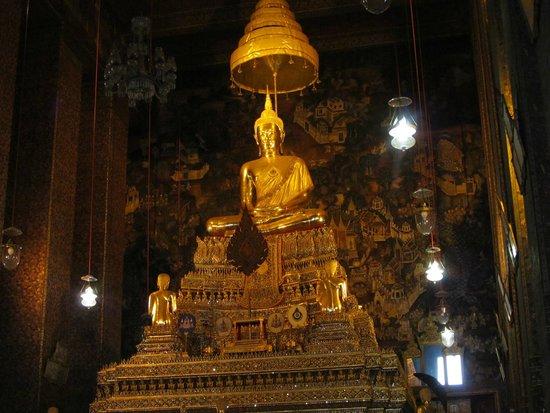 Wat Pho (Tempel des liegenden Buddha): Храм Лежащего Будды.