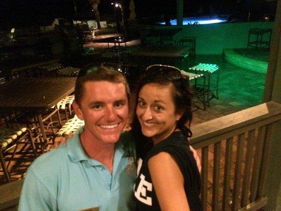 Sirata Beach Resort: Zack from Harrys!