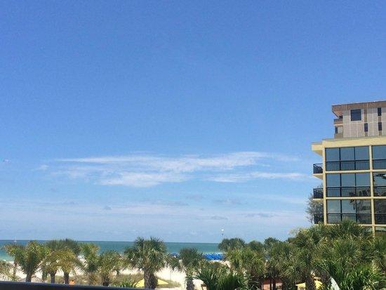 Sirata Beach Resort: Skyline from room