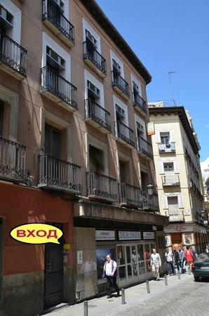 Madrid City Rooms: Здание отеля