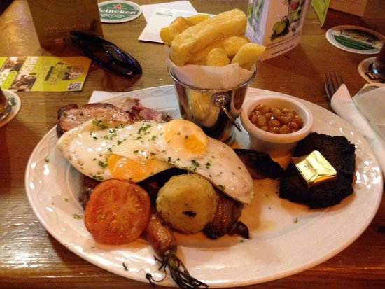 Oliver Saint John Gogarty: Irish grillplate, enough foid for two!