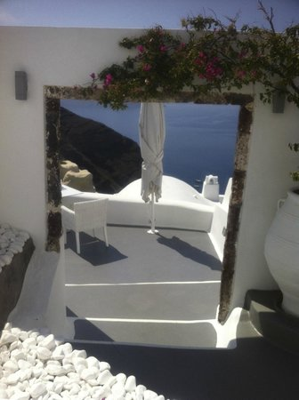 Canaves Oia Hotel: autre terrasse