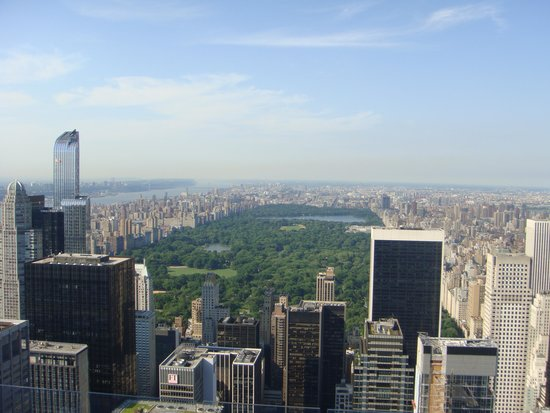 Rockefeller Center Tour: Just some of the views on a clear day