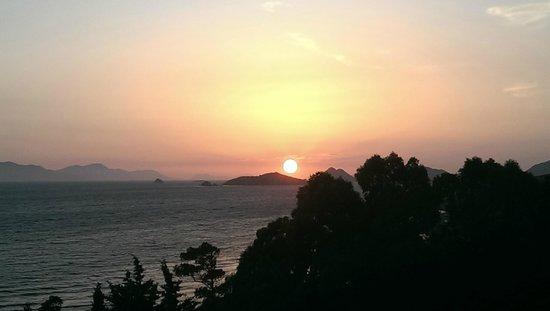Woxxie Hotel: zonsondergang prachtig
