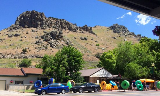 Idaho's World Famous Hot Pools : Rafting is a blast!