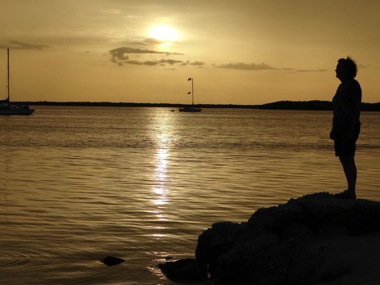 Hampton Inn Key Largo: Sunset from Beach