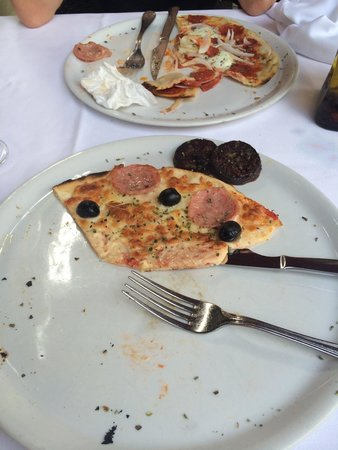 Sant Lluis: One of the worst pizzas that I eat in my life. No taste, no smell.