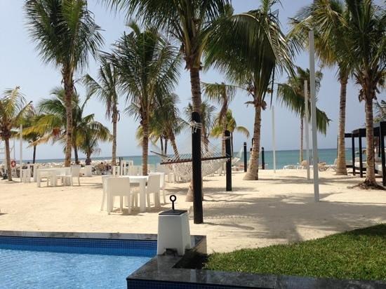 Hotel Riu Palace Jamaica : beach area