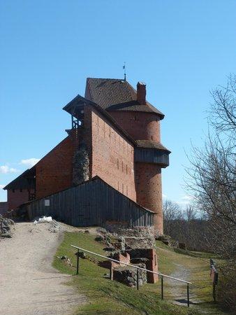 Turaida Castle : одна из башен Замка