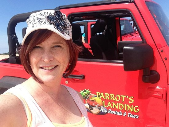 Parrot's Landing Jeep Rentals and Tours: Love the jeeps!