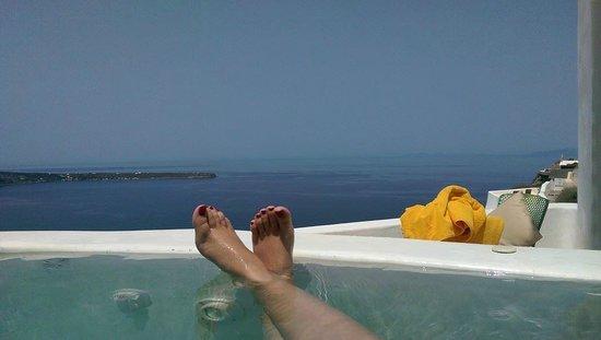 Fanari Villas : View from private hot tub